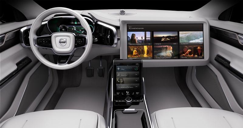 Télévision en voiture